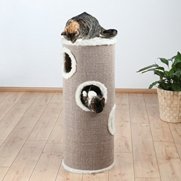 Trixie 4338 Cat Tower, ø 40 cm/100 cm, braun/beige - 3